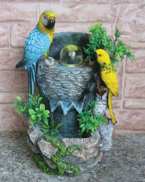 Фонтан для попугаев